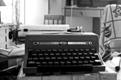 typewriter  736