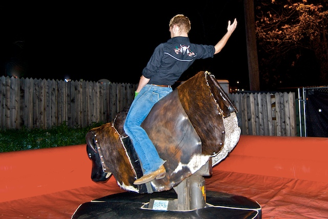 Mechanical Bull Riding I ride mechanical bulls.